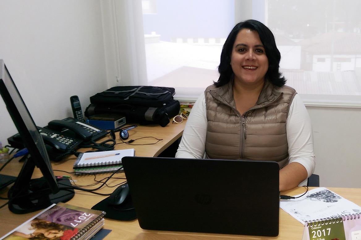 María A. Pazmiño